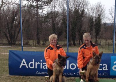 GSD 1 and 2 place